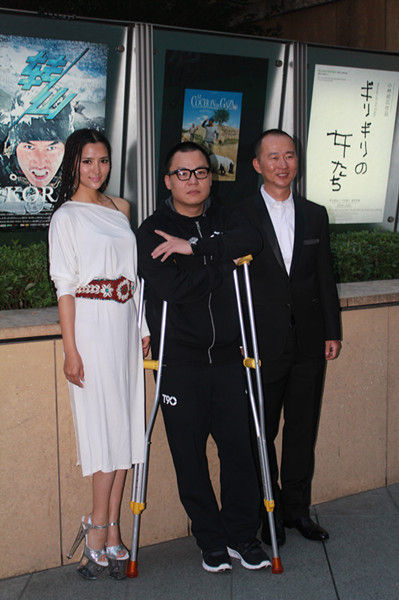 《转山》全球首映,李桃与导演杜家毅接受媒体访问