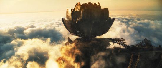 科幻史诗巨制《云图》中恢弘大气的场景
