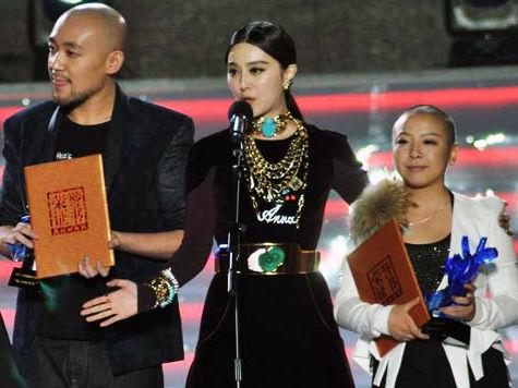 范冰冰亮相中国好声音决赛为学员颁奖图片