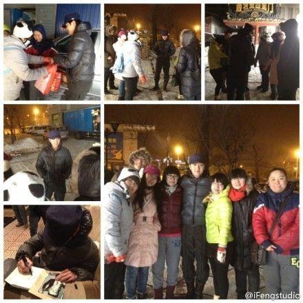 《黄金时代》在哈尔滨拍摄