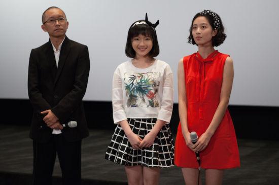 李浩菲在《少女哪吒》见面会上