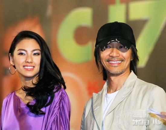 组图:周星驰张雨绮《长江7号》马来西亚首映