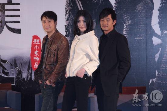 组图:陈慧琳大肚宣传《江山美人》仍穿高跟鞋