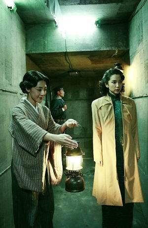 邓家佳《风声》演日本女侍与李冰冰飙戏(组图)