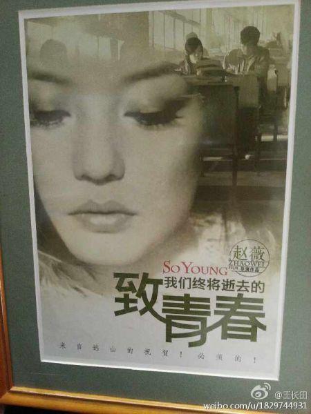 《致青春》未公开海报