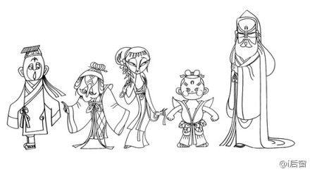 柯明生前曾设计《天书奇谭》