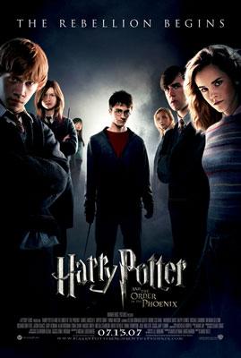 北美票房综述:《哈利波特5》力压《变形金刚》