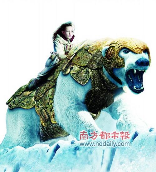 《黄金罗盘》北美登顶妮可-基德曼大变身(图)