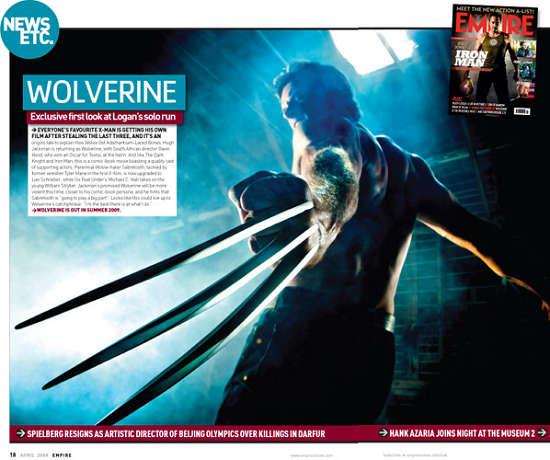 《金刚狼》和《绿巨人2》最新剧照被曝光(图)