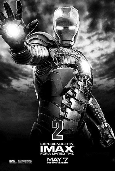 《钢铁侠2》曝IMAX版海报新钢铁衣破败亮相