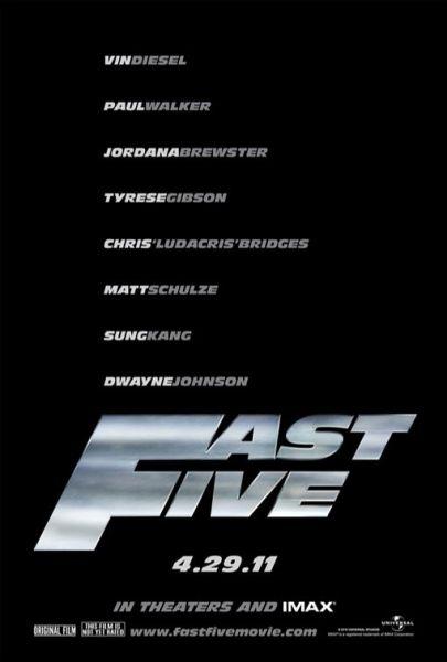 本周新片《速度与激情5》《小红帽后现代版2》