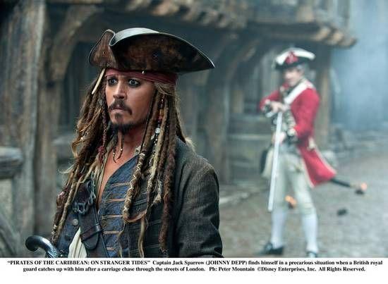 《加勒比海盗4》剧照