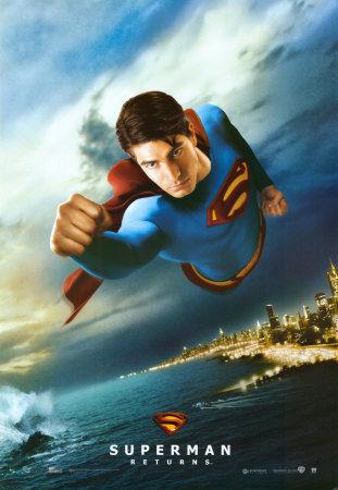 2006年上映的《超人归来》海报