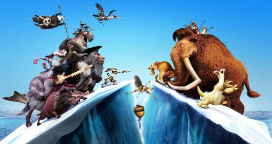 《冰川时代4》制作手册5:蜜桃与她的朋友们