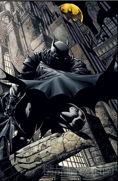 蝙蝠侠照片漫画故去将角色发扬光大作者男神漫画图片