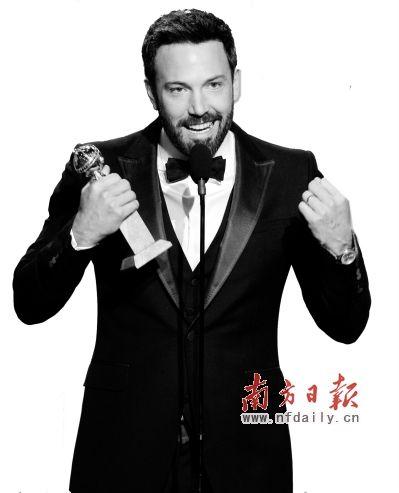 本・阿弗莱克凭借执导影片《逃离德黑兰》获得电影类最佳导演奖。新华社发