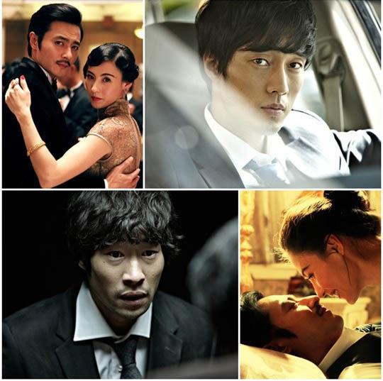 张东健的《危险关系》、苏志燮的《上班族》与柳承范的《嫌疑人X的献身》