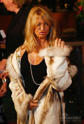 图文:第58届柏林电影节红毯--好莱坞女星歌蒂-韩