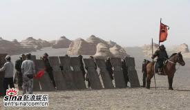 组图:《三国志》敦煌热拍士兵造型独家曝光