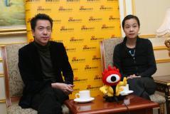 王中磊刘璐对话新浪揭秘《集结号》首映庆典