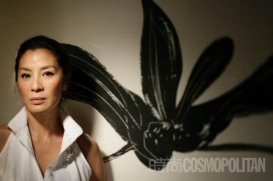 图文:《时尚COSMO》专访杨紫琼--成熟端庄