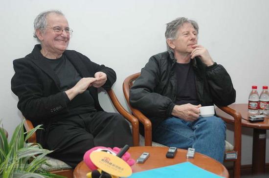 图文:罗曼-波兰斯基与好友受访--平易近人