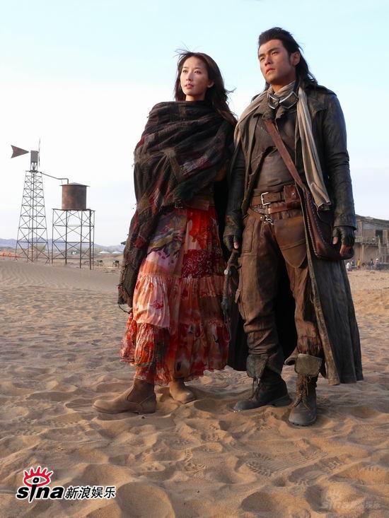 图文:《刺陵》探班-林志玲与周杰伦首次合作