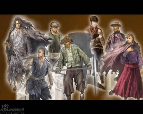 图文:《十月围城》剧照--角色效果图