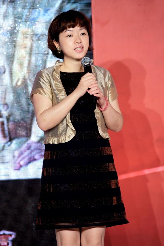 图文:《天安门》官网上线-新浪娱乐总监萧牧致辞