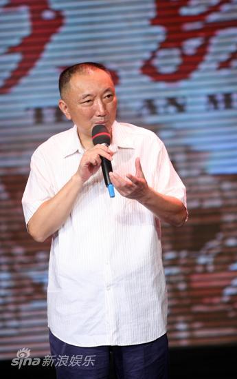 图文:《天安门》首映-中影集团董事长韩三平