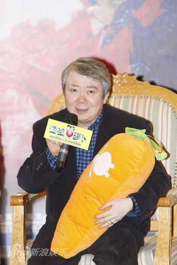 图文:《倔强萝卜》首映-监制文隽