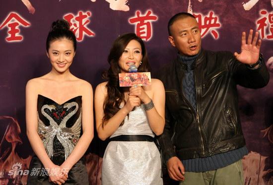 图文:《唐朝兄弟》首映-胡军讲述拍摄艰辛