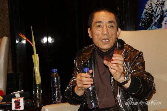 图文:《三枪》上海宣传-张艺谋谈对电影发展理解