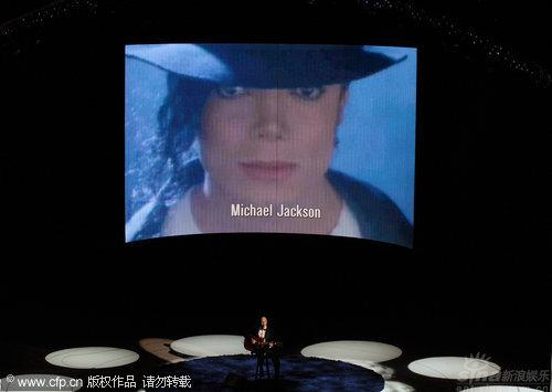 图文:第82届奥斯卡颁奖现场-奥斯卡向去世艺人致敬