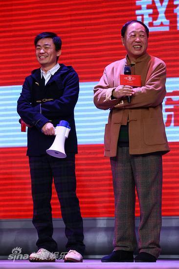 王宝强(左)和李建华
