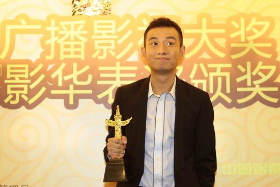 文章凭《海洋天堂》获优秀新人男演员奖