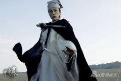 """陈坤""""白衣书生""""造型曝光沙漠中与李连杰对战"""