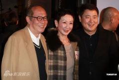刘德华现身《桃姐》首映笑称刘青云封帝有危险
