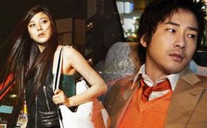 金荷娜姜志焕新片宣传写真 日本街头取景