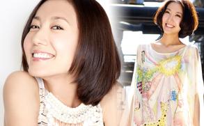 高露邀日本知名摄影师拍写真 尽展明媚笑容