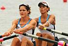 女子轻量级双人双桨预赛