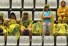 下雨影响网球比赛进程