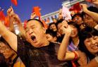 北京市民喜迎开幕式