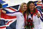 英国选手400米自由泳夺金