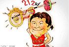 中国奥运冠军可爱漫画