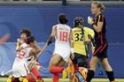 女子曲棍球中国晋级决赛