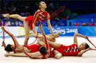 女子艺术体操精彩纷呈