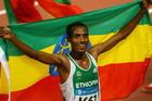 男子5000米埃塞俄比亚选手夺冠
