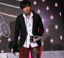 2008年周杰伦囊括五项大奖