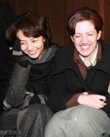高圆圆与外籍演员